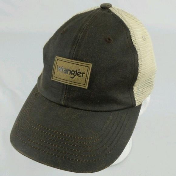 Wrangler Men s Truckers Mesh Baseball Cap Snapback cd79f751be4d